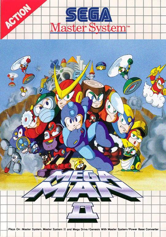 Mega Man 2 SMS Box Art (version 1) by MegamanX-2009