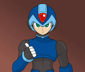 Megaman X ReDraw Challenge