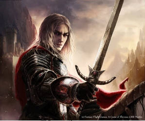 Rhaegar Targaryen by paintmaster1