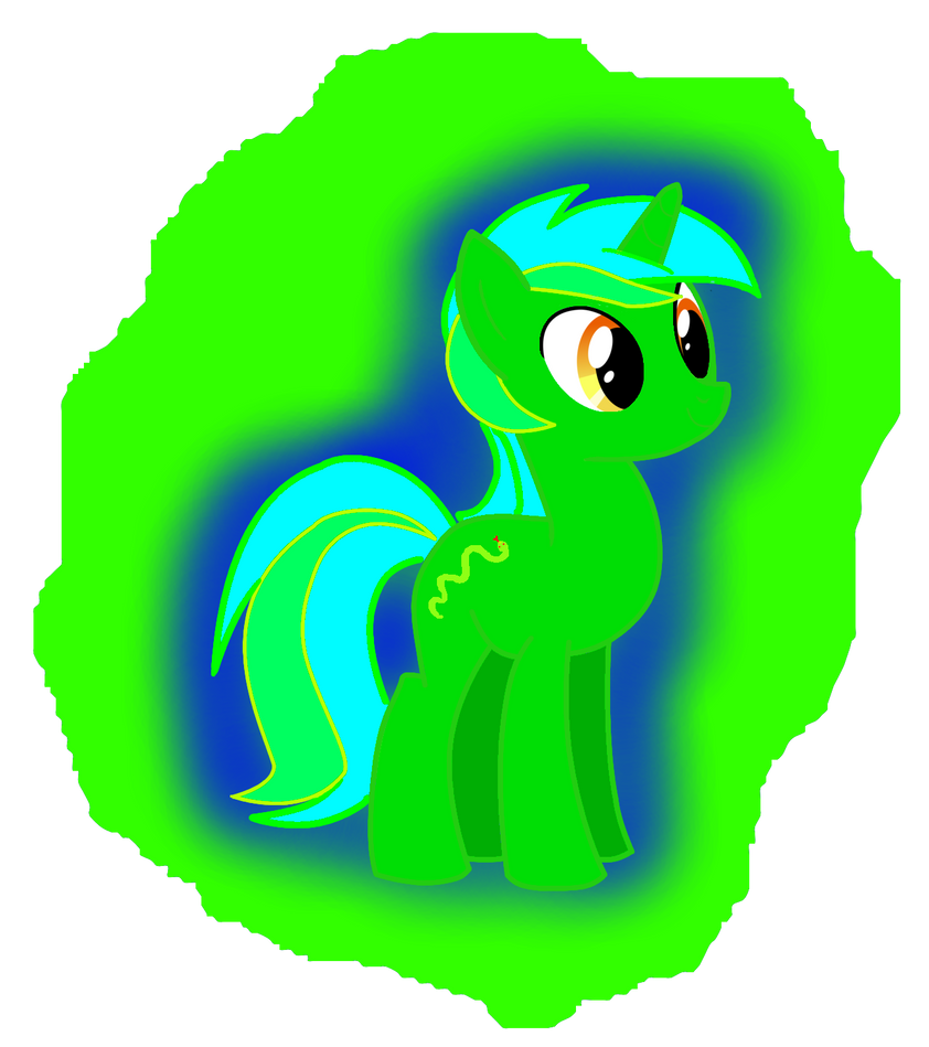 My OC Green Viper by SlitheringBrony