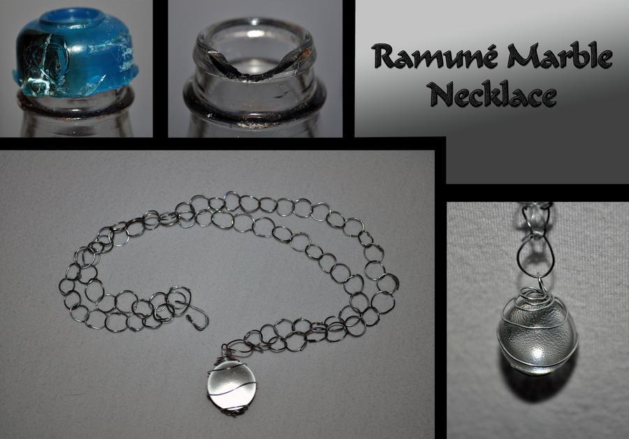 Ramune Marble Necklace :D by SenorCactusHasATaco on DeviantArt