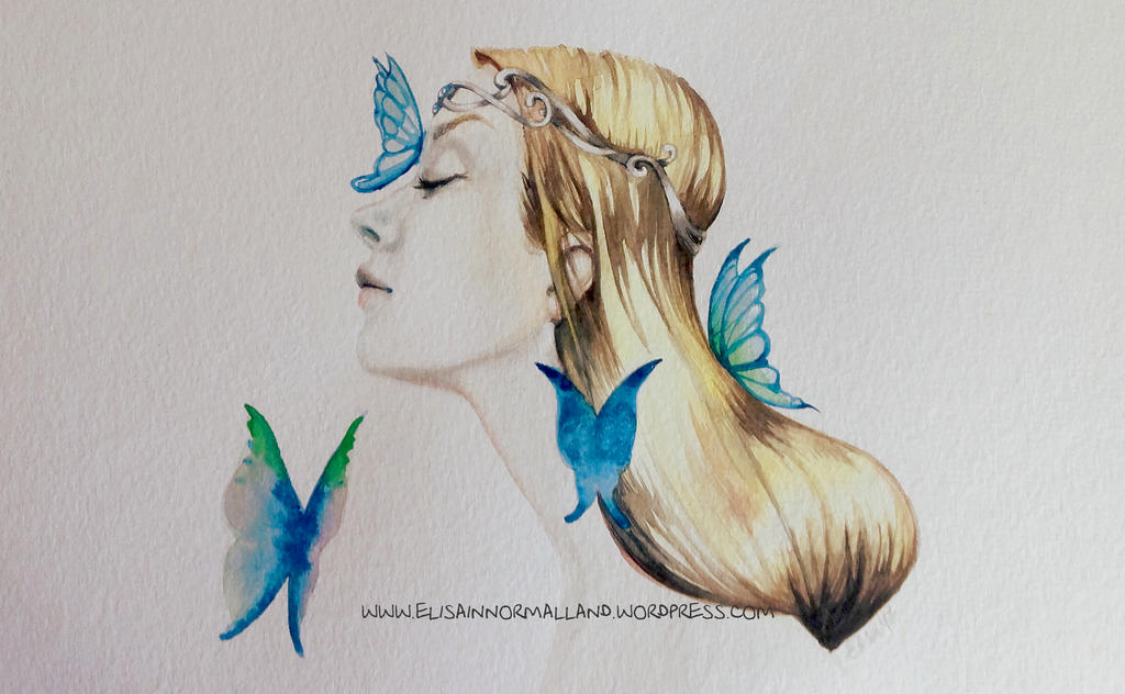 Transition - a rite of passage - watercolor by WhiteMeche
