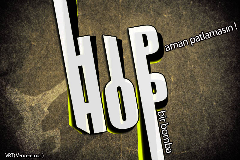 HipHop Bir Bomba by VRT-design