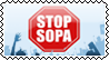 STOP SOPA - stamp by nicolus12
