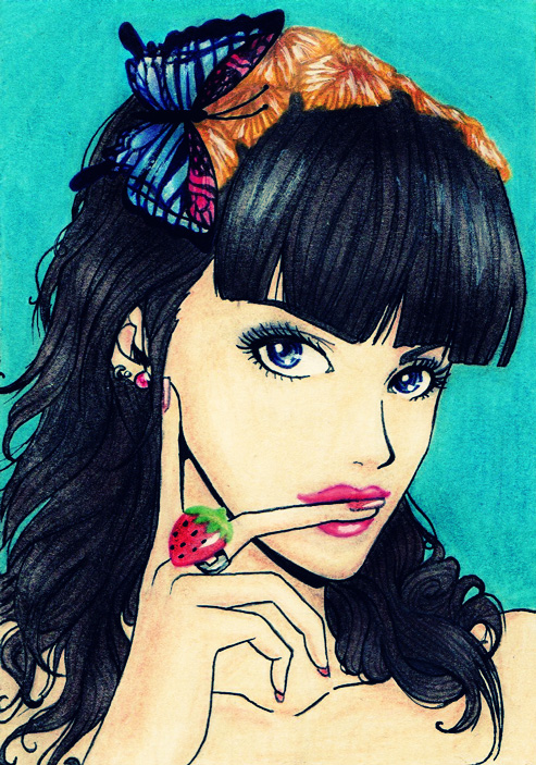 Katy Perry Anime version 2.0 by Lady-Butterfly19 on DeviantArt