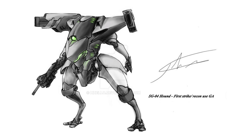 SG-04 Hound by hhello