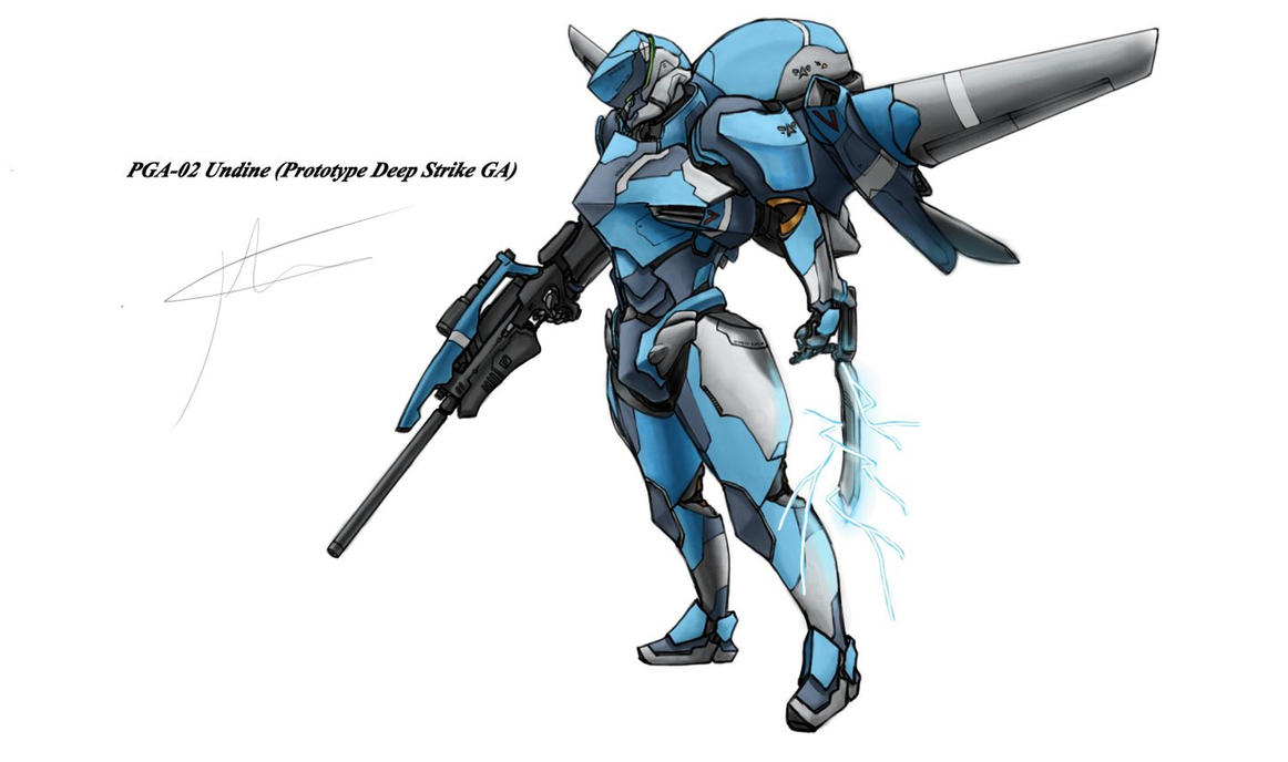 PGA-02 Undine by hhello