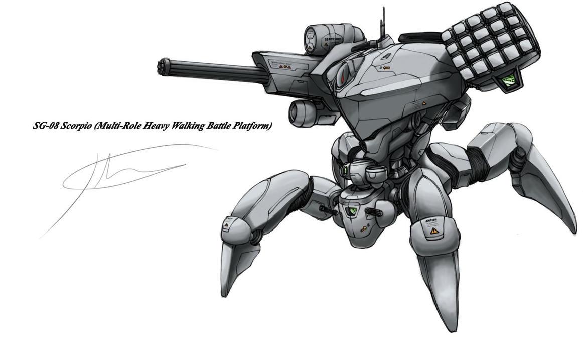 SG-10 Scorpio by hhello