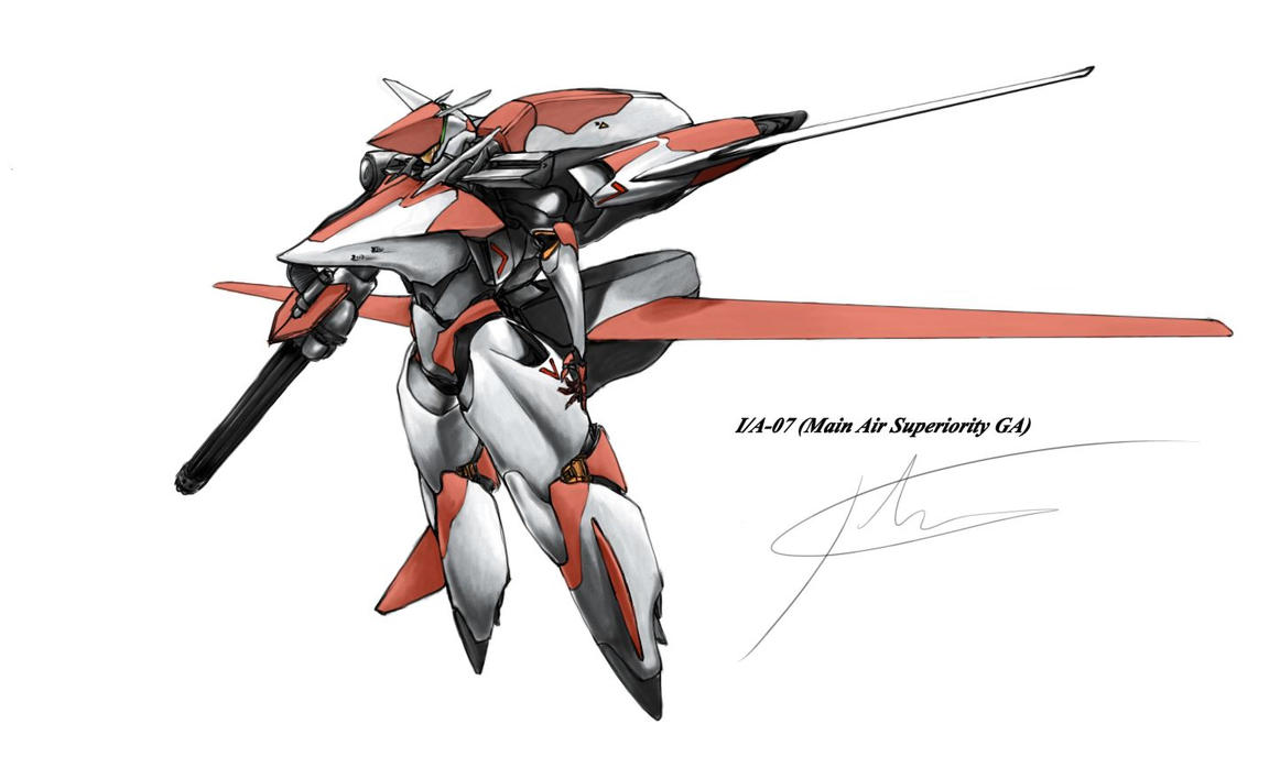 I/A-07 red by hhello