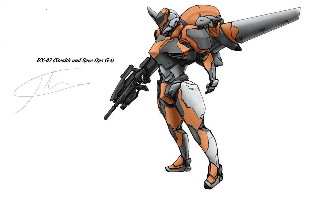 I/X-07 orange by hhello