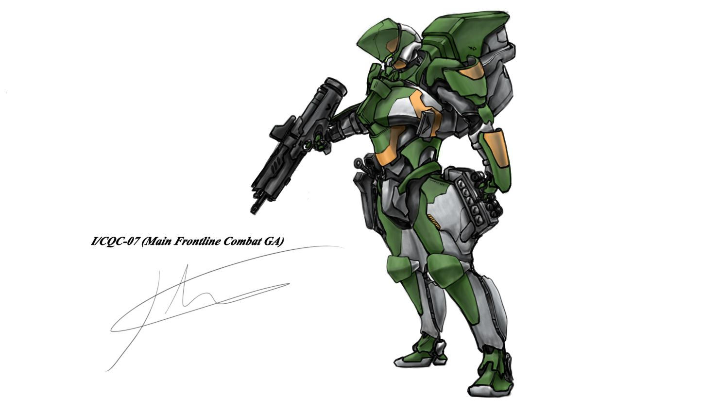 I/CQC-07 Green by hhello