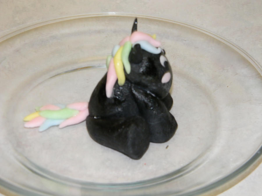 how to make a fondant pony
