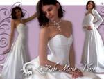 Marie flore's Wedding Dress by michaeljack