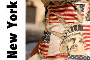 New york by La fee corsetee