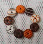 Choc Orange doughnuts