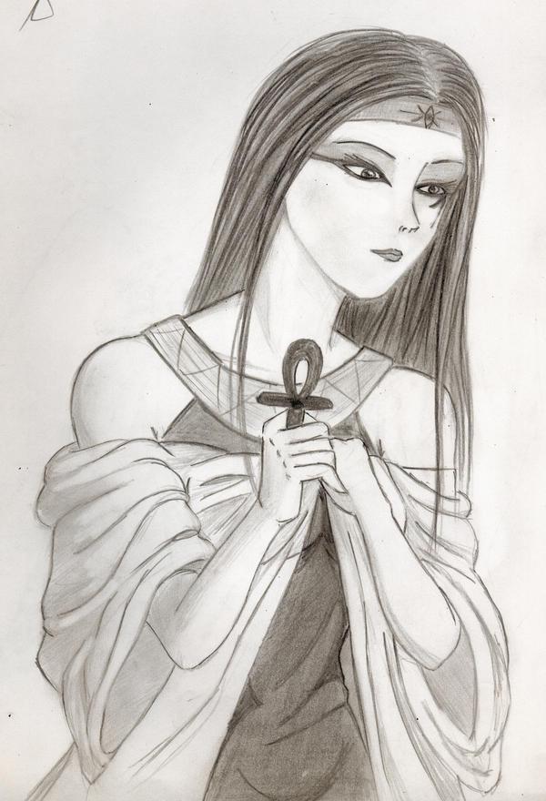 Egyptian Ankh Drawing
