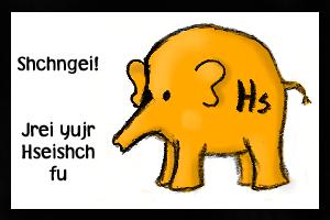 The Hseishch Beast by JaiLatte