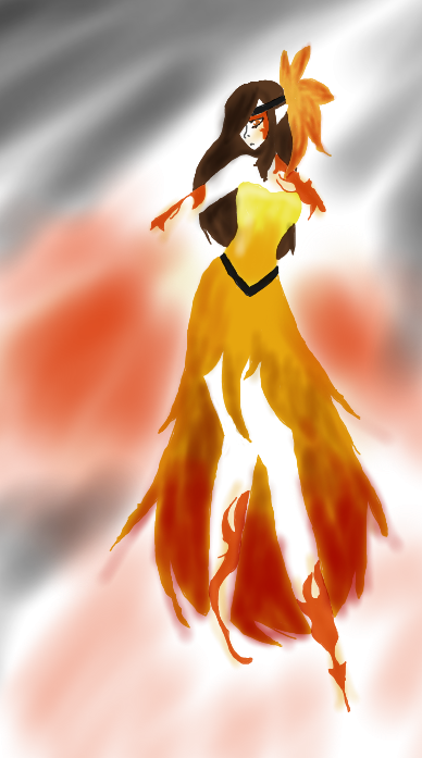 Phoenix Dance by GhostRain1412