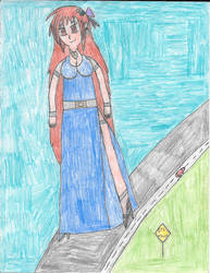 Jenna: Scenic Stroll by mikeyj1093