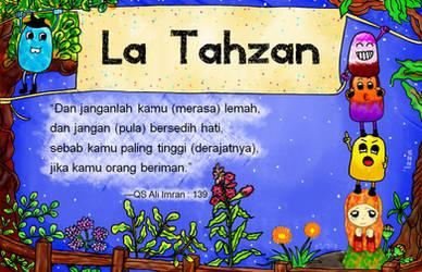 La Tahzan by xzalincy