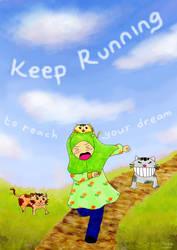 Keep Running! by xzalincy