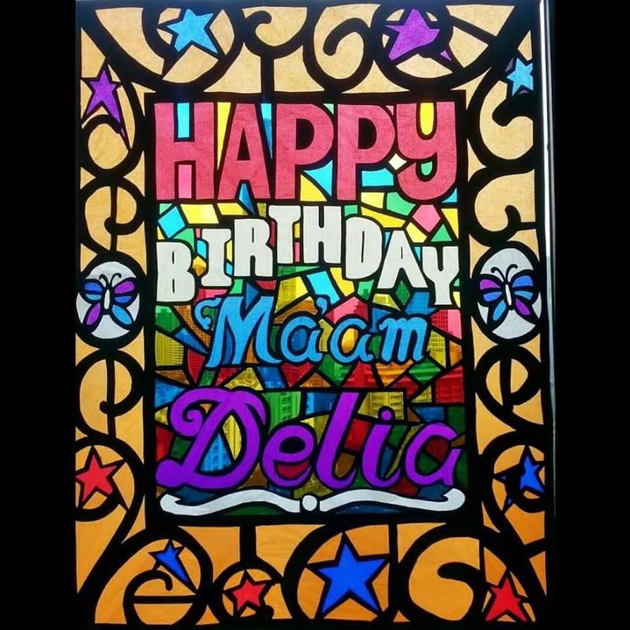 Birthday Mosaic by jamesLi