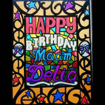 Birthday Mosaic