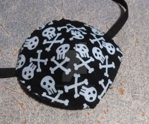 Kate's Skull and Crossbones Patch by Yonaka-Yamako