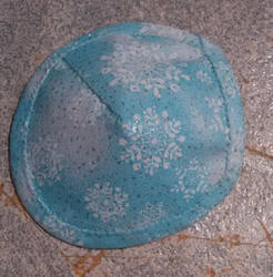 Kate's Snow Flakes Patch-Blue