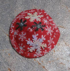 Kate's Snow Flakes Patch-Red