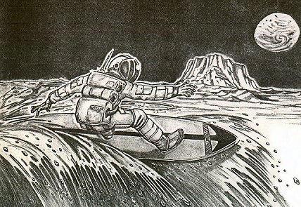 MoonSurfer by Yonaka-Yamako
