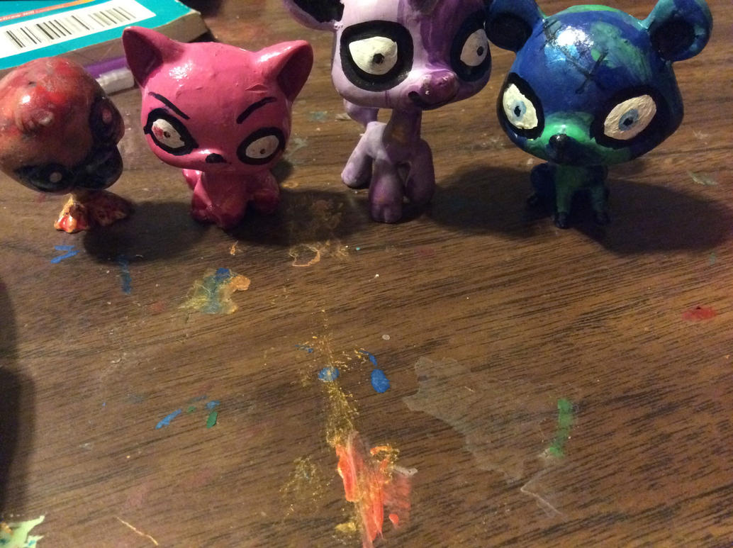Some more of my LPS Customs by lux6283