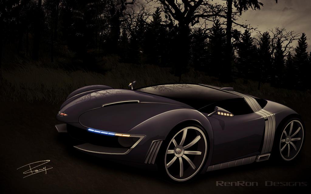Corvette Mako Shark III by renron
