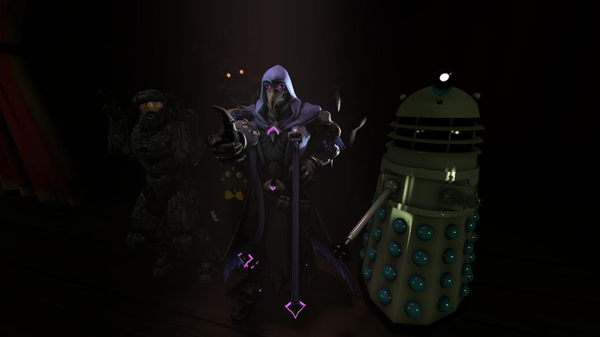 A Few Characters by TNU2002