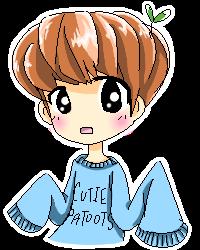 Baekhyun Pagedoll (free to use) by BerryUsagii