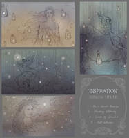 'Inspiration' contest sketches by Zephyri