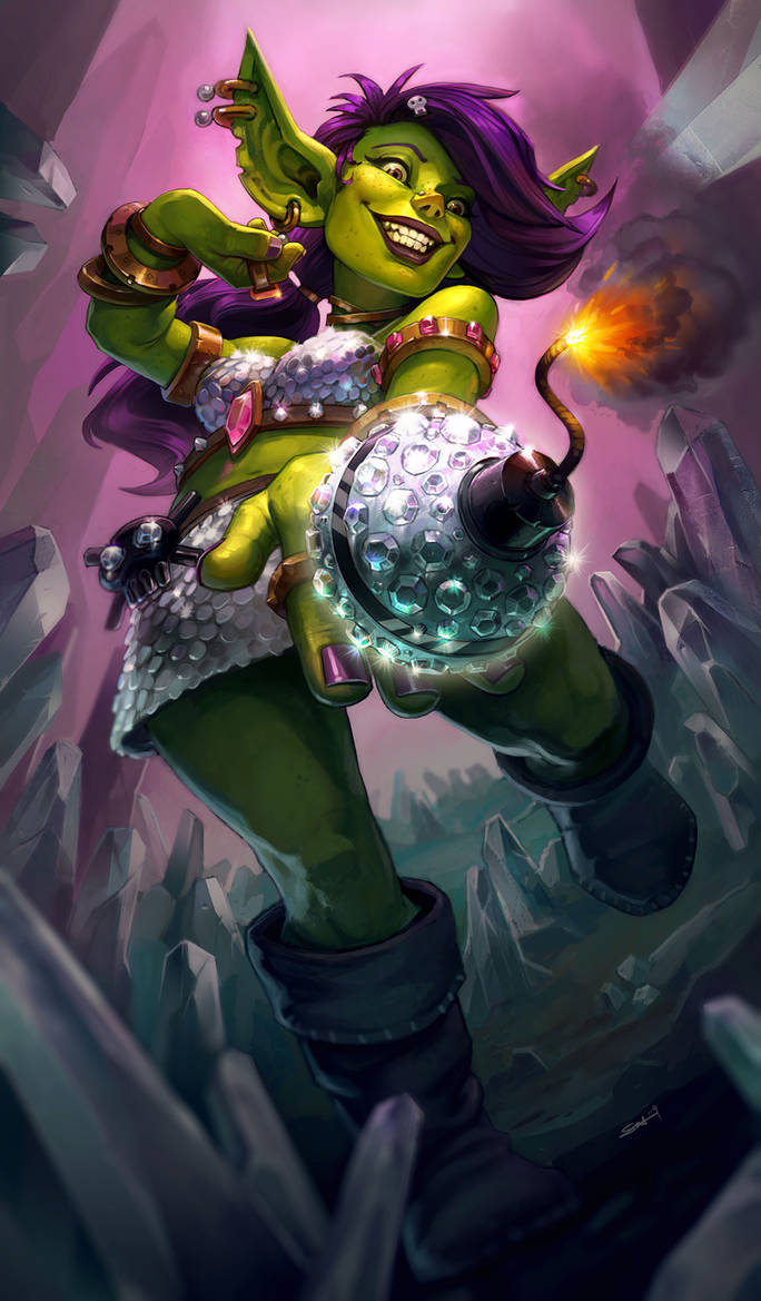 GvG contest - Bling Bomb by Zephyri