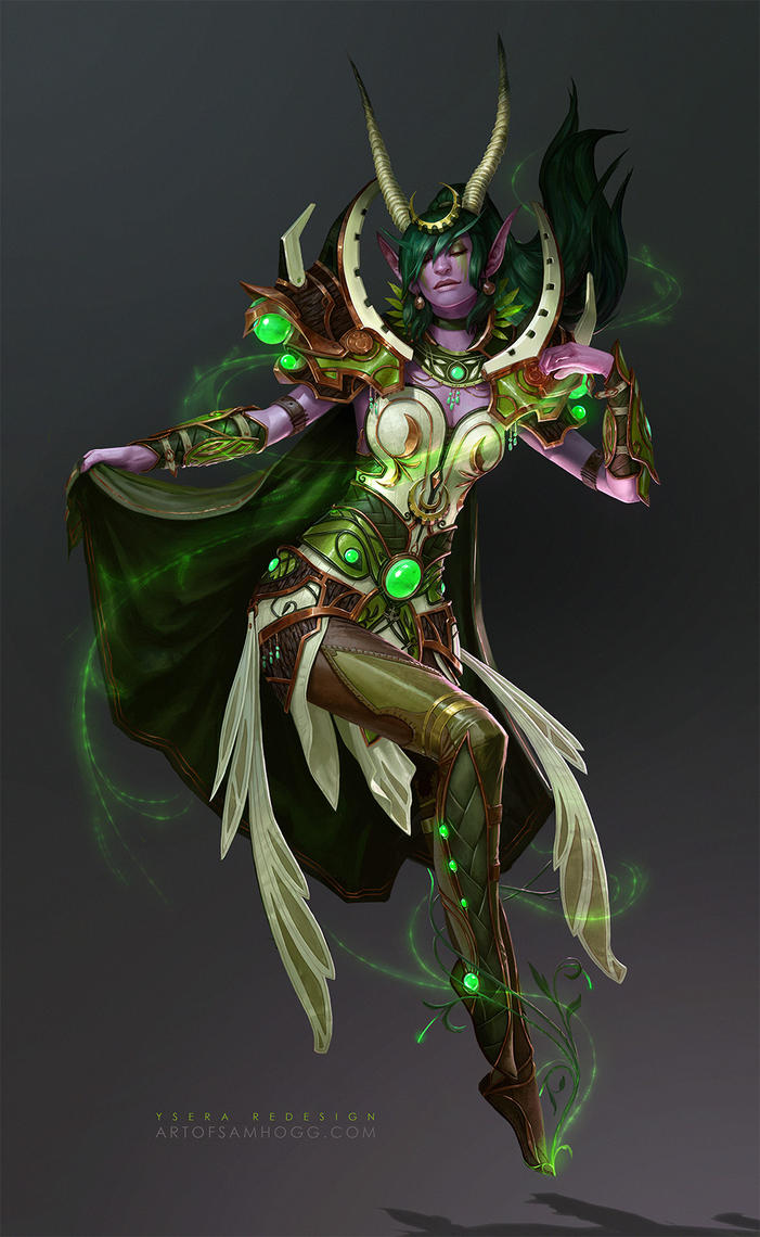 Artistic Aspects : Ysera the dreamer by zephyri on deviantart