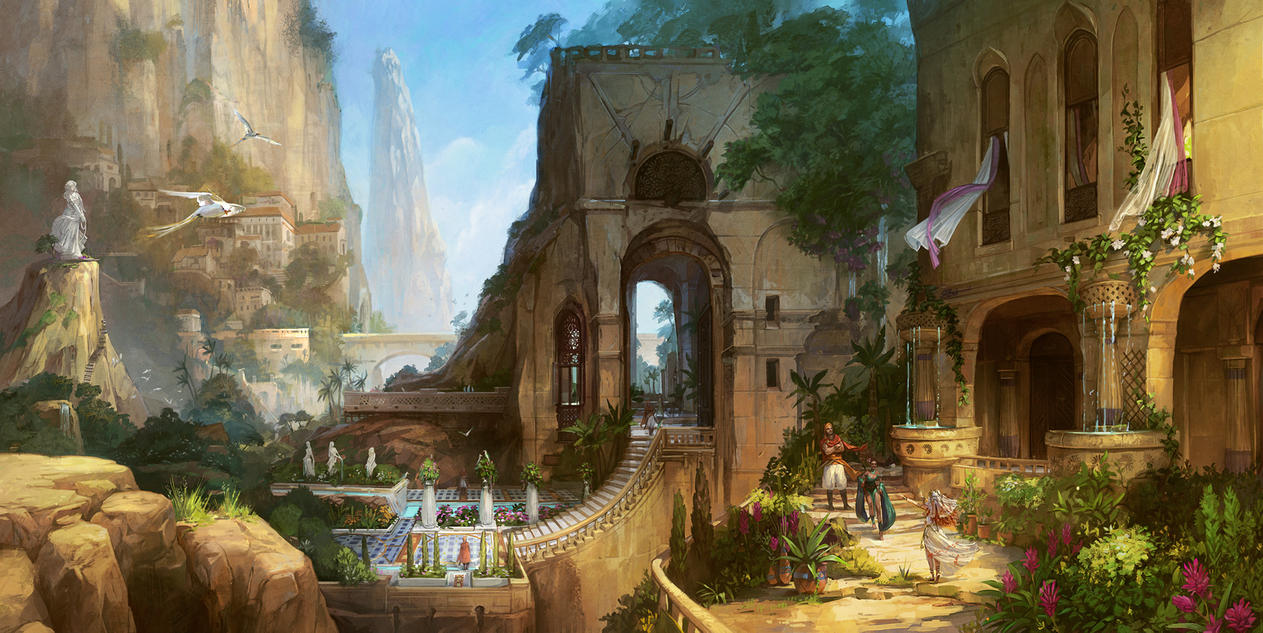 The Courtesan's Quarters by Zephyri