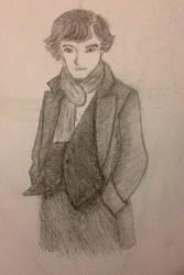 Sherlock Benedict Chumberbatch by Myrna2001