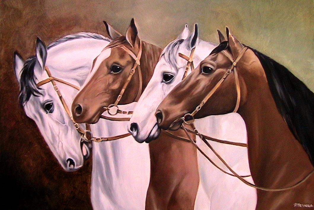 Horses by radina