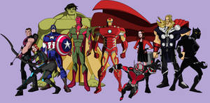 Avengers: EMH - Character Designs (MCU Edition)