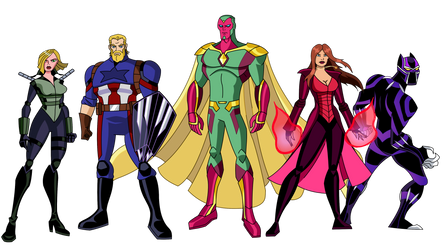Avengers: EMH x Infinity War: War on Wakanda by TheDictator97