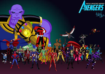 Avengers EMH x Infinity War by TheDictator97