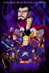 Avengers: Endgame (EMH Poster) by TheDictator97