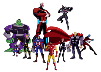 Avengers: EMH x Endgame by TheDictator97