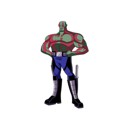 Drax the Destroyer x Guardians of the Galaxy