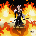 Sephiroth (FFVII: The Animated Series) by YaBoiiSid