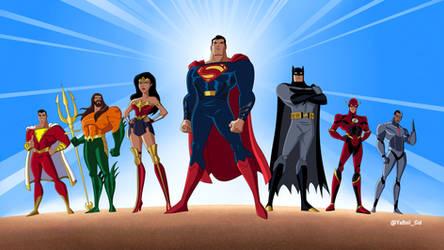Justice League Unlimited x DCEU