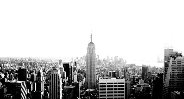City Skyline 2 Black and White by GestianPoet21 on DeviantArt